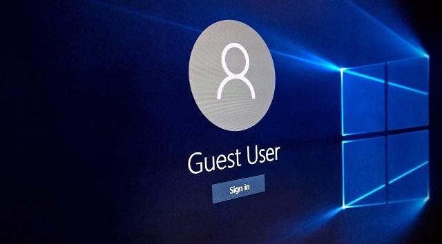 bỏ password khi vào máy tính khác trong cùng mạng lan (win 10)