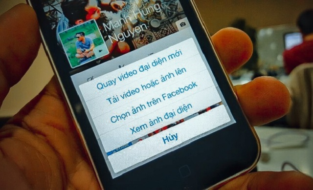 cách đặt video làm ảnh đại diện facebook trên máy tính