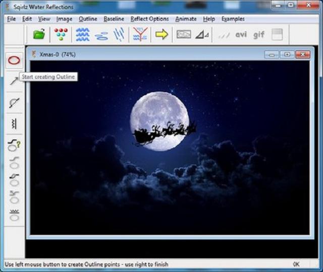 hiệu ứng đẹp khi rê chuột trên màn hình desktop
