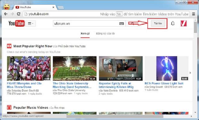 làm sao để up video lên youtube chất lượng cao